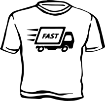 T-Shirt Delivery